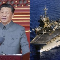 Xi vows to crush Taiwan independence, US Navy posts pic of Independence carrier