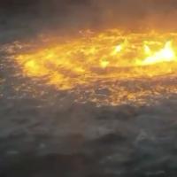 墨西哥灣驚見「火海」 疑因海底天然氣管外洩釀災