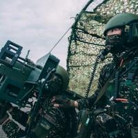 Taiwan Marines conduct air defense drill