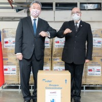 Taiwan gifts Paraguay with initial batch of 24 oxygen machines