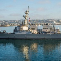 China alleges US Navy ship sailed into its territorial waters