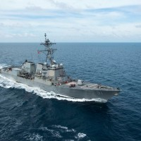 US destroyer, Chinese spy ship prowl off east coast of Taiwan