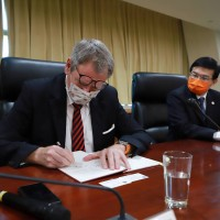 Taiwan signs aviation agreement with Germany