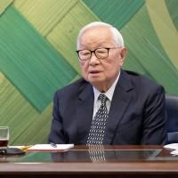 台積電捐疫苗議題  APEC台灣領袖代表張忠謀:已退休、不能回答