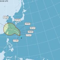 Tropical Storm In-Fa likely to impact weather in Taiwan next week
