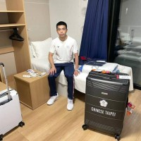 Taiwan table tennis player seen on 'anti-sex' cardboard bed in Olympic Village
