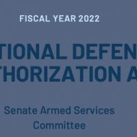 美參院通過2022國防授權法案 與台探討防衛合作可能性