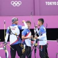 Taiwan beats China in men's team archery at Tokyo Olympics