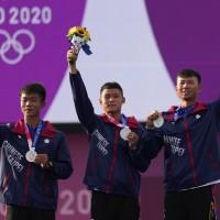 快訊【日本東京奧運】台灣又一銀牌落袋•射箭男團冠軍戰不敵南韓 中華隊累計2銀1銅