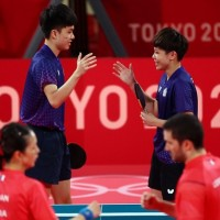 Taiwanese table tennis team wins bronze at Tokyo Olympics