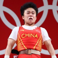 Photo of the Day: Wolf warrior diplomats howl over pic of Chinese weightlifter
