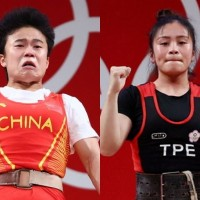 Taiwanese weightlifter could take bronze if China's Hou found doping