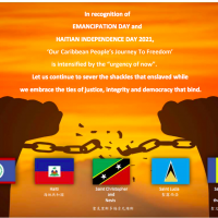 Journey to freedom for Caribbean peoples continues