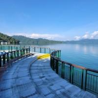 'Nine Frog Acrobats' at Taiwan's Sun Moon Lake ready for tourists