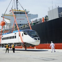 Taiwan's newest train for east coast service arrives from Japan