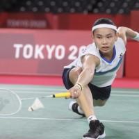 Taiwan badminton stars advance toward medals at Tokyo Olympics