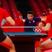 台灣桌球男團莊智淵領軍跨世代組合 東京奧運擊敗克羅埃西亞挺進八強