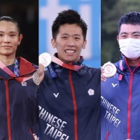 Taiwan rakes in 3 more Olympic medals Sunday, bringing total to 10