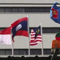 ASEAN diplomats discussing crisis envoy, aid to Myanmar