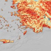 熱浪襲地中海!歐洲太空總署:土耳其和賽普勒斯 溫度再度飆破攝氏50度
