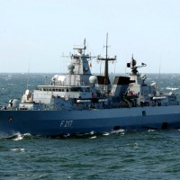 German warship sets out for South China Sea, first time since 2002