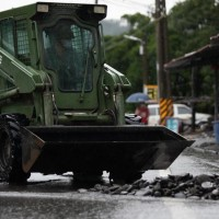 Taiwan military deploys troops to Kaohsiung for post-flood cleanup