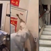 Videos show Chinese authorities locking people inside their homes as Delta surges