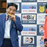 【傻眼!】日本名古屋市長拉下口罩啃選手金牌 東奧女壘投手後藤希友•可望獲換新獎牌