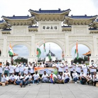 Indians in Taiwan celebrate 75 years of Indian independence