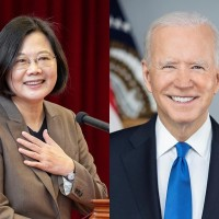 Taiwan president thanks Biden for 'rock solid' support amid China threats