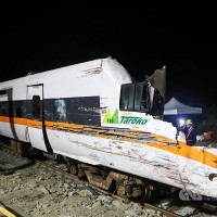 Nearly two-thirds of fatalities in Taiwan's April train wreck had standing tickets