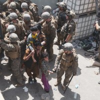 U.S. says two explosions near Kabul airport; Islamic State suspected
