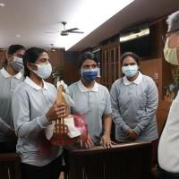 Taiwan's Tzu Chi Foundation donated oxygen generators to India