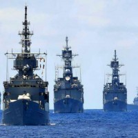 Taiwan's Keelung-class destroyers train to counter Chinese attack