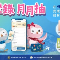 Taiwan's BOCA holds monthly lottery to encourage travel-abroad registration