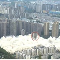 Video shows 15 high-rises blasted to smithereens in China's Kunming