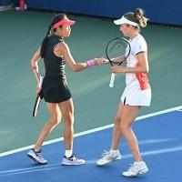Taiwan's Hsieh, Belgian partner reach US Open quarterfinals