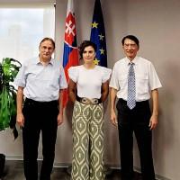 Slovak representative calls for closer Taiwan ties