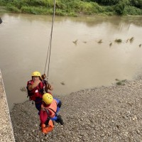 Taiwanese man carried away by river current while fishing