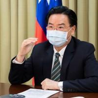 華府智庫演說呼籲抵抗威權 吳釗燮:是一場民主國家輸不起的戰爭