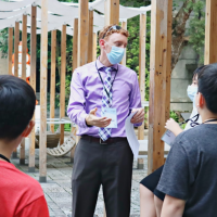AIT trains English guides at Taipei's Songshan Cultural and Creative Park