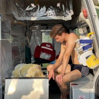 Ukrainian swimmer rescued off Taiwan's north coast