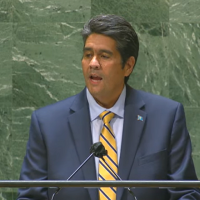 Palau president speaks up for Taiwan during UN address