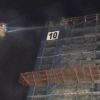 北台灣六張犁社會住宅工地凌晨火警 北市府都發局:停工調查