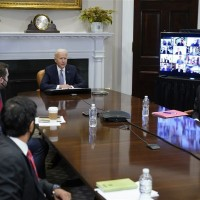 Taiwan's TSMC bosses attend White House summit
