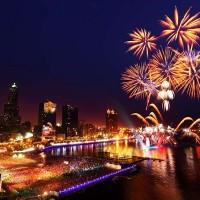Ten spots to watch Double Ten Day fireworks in Taiwan's Kaohsiung