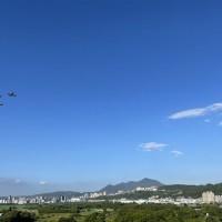有戰機免驚! 國慶預演 台北這三天早上都有眼福
