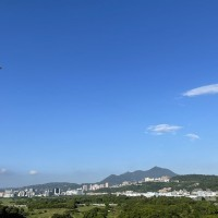 Fighter jets soar over Presidental Palace in rehearsal for Taiwan's National Day