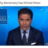 CNN's Fareed Zakaria highlights Taiwan as 'bright spot' for democracy