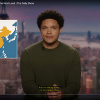 'The Daily Show' fixes map of Taiwan